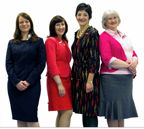 Members of the Women Ahead 2012-13 Committee