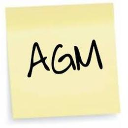 Our AGM takes place on 27th April image